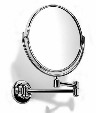 Samuel Heath Novis Pivotal Plain Magnifying Mirror 213mm From