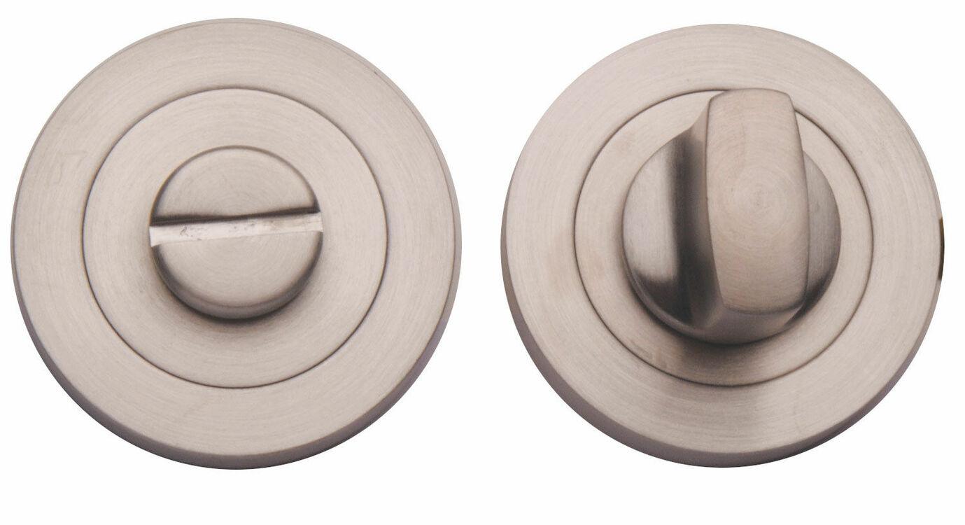 Turn & Release Bathroom Door Lock