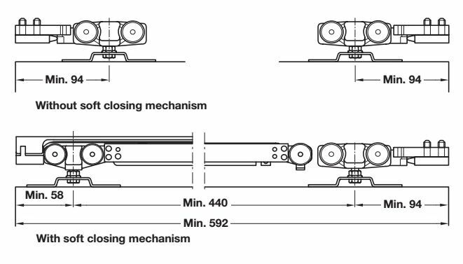 Hafele Slido Classic Sliding Door System From 4674