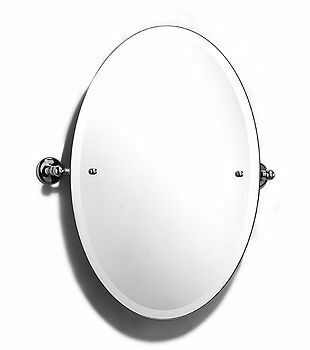 Samuel Heath Classic Large Oval Tilting Mirror From 163 270 72