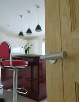 Kitchen door handle