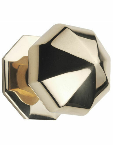 OCTAGON CENTRE KNOB POINTED