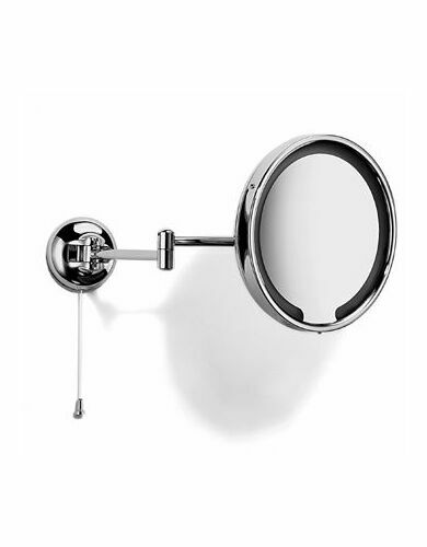Samuel Heath Classic Double Arm Illuminated Magnifying Mirror from
