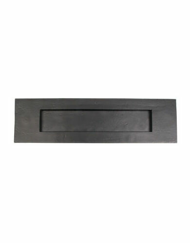 Cardea Black Iron Letter Plate
