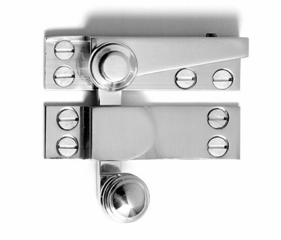 Samuel Heath Reeded Knob Sash Window Fastener